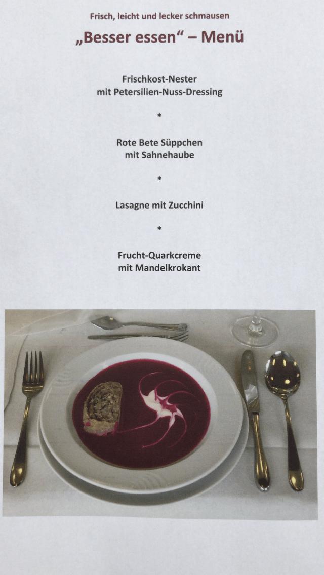 Koch-Ernährungskurs LAGOM by Carlsson