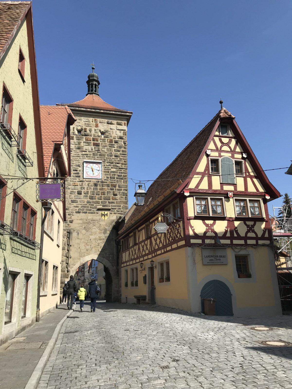 Übernachtung in Rothenburg o.d.T.