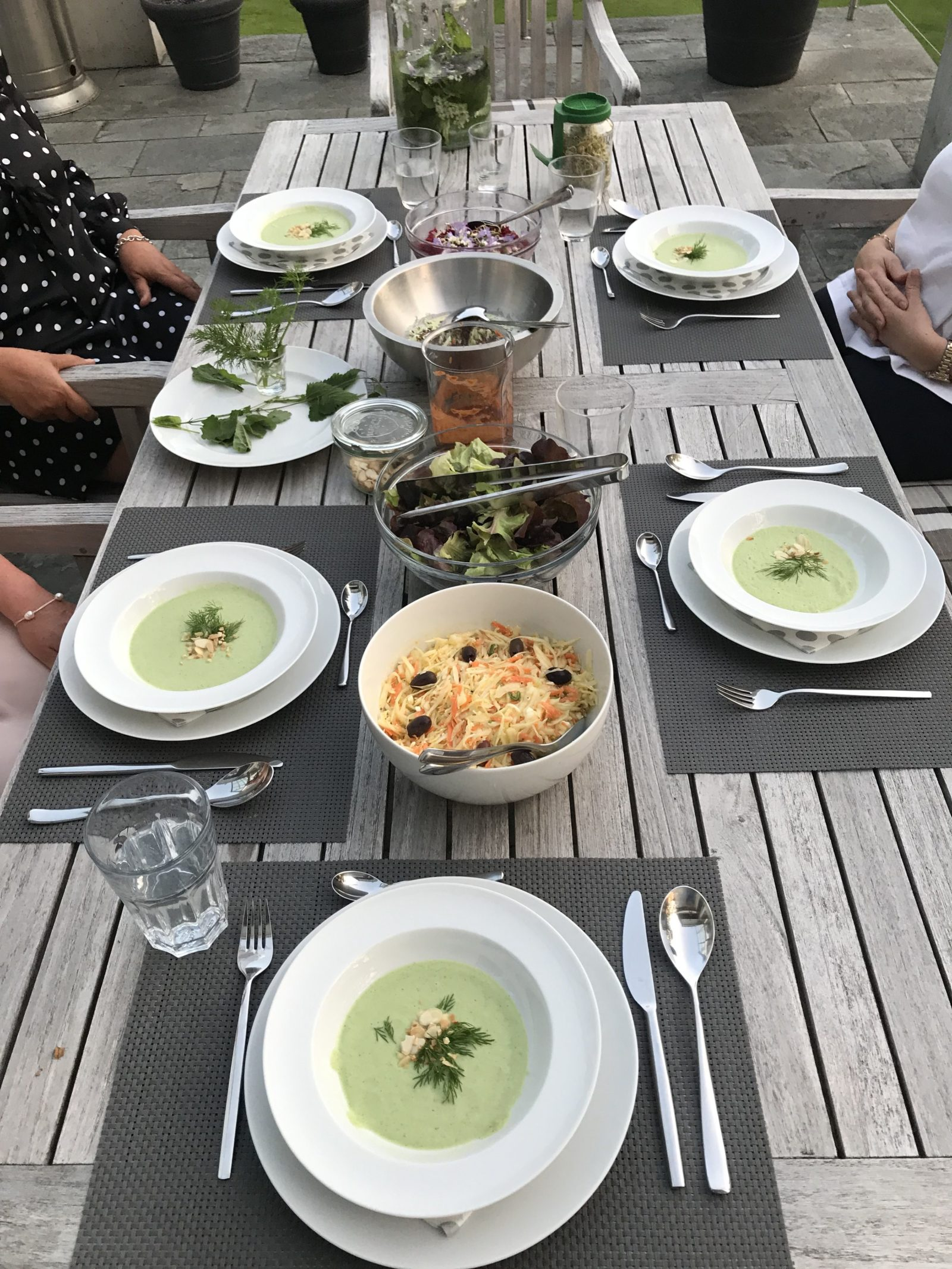 Essen im Freien