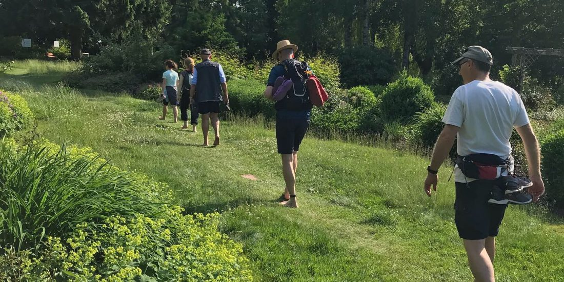 Barfuß-Wanderung